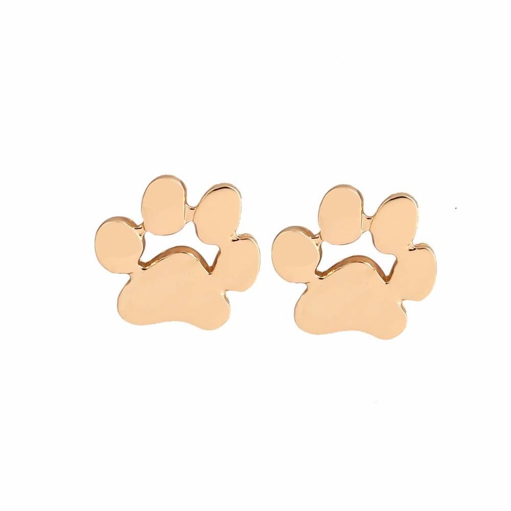 Joboly Hund Fuß Pfotenabdruck Haustier Hund Ohrringe