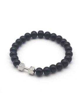 Joboly Tough men / men dumbbell dumbbell training fitness Lovelymusthaves bracelet