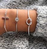 Joboly Verstellbares Armband mit Knotenknopf