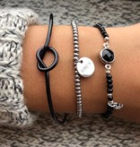 Joboly Knot button adjustable bracelet