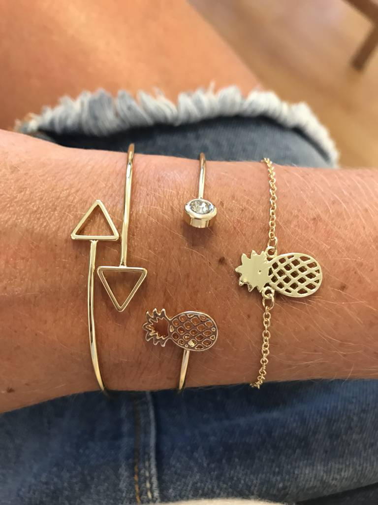 Joboly Pineapple pineapple hip bracelet