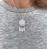 Joboly Traumfänger Boho Bohemian Style Halskette
