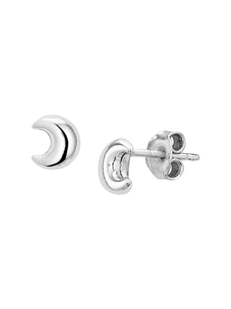 Joboly Joboly Jewellery Earrings Moon - Damen - Ohrstecker 925er Silber