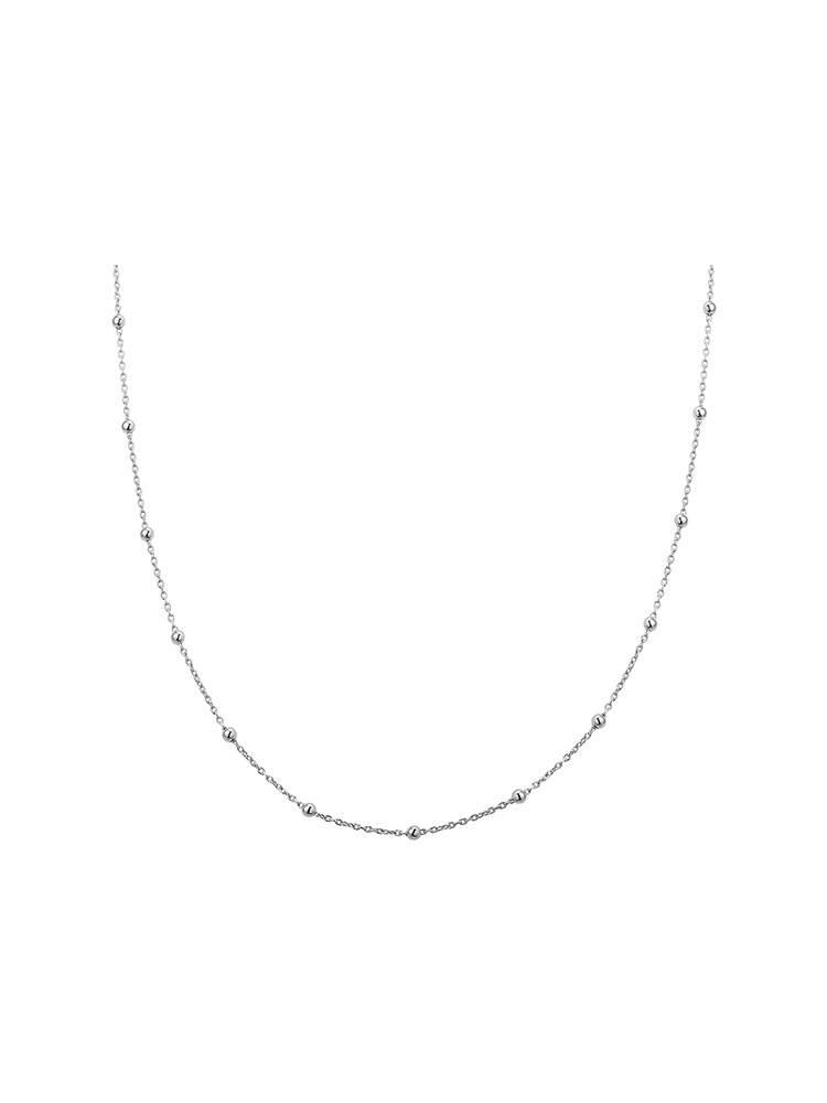 Joboly Jewelry Bolletjes Necklace - Ladies - 925 Silver