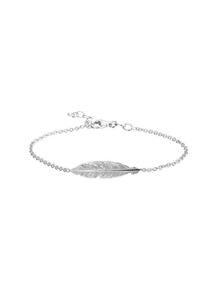 Joboly Joboly Schmuck Armband Feder - Damen - 925er Silber