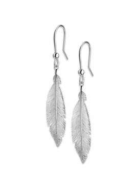 Joboly Jewellery Earrings Feather - Damen - Ohrstecker 925er Silber