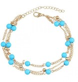 Joboly Beads ankle strap