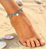 Joboly Beaded ankle strap