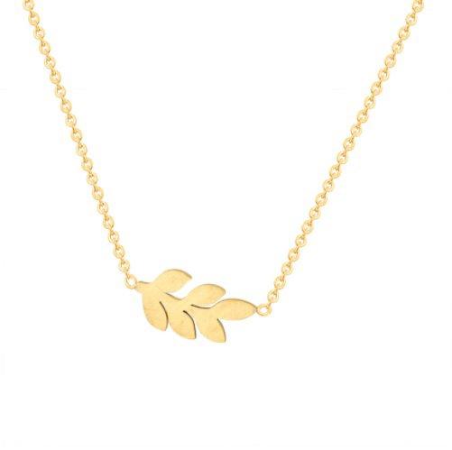 Joboly Leaf necklace