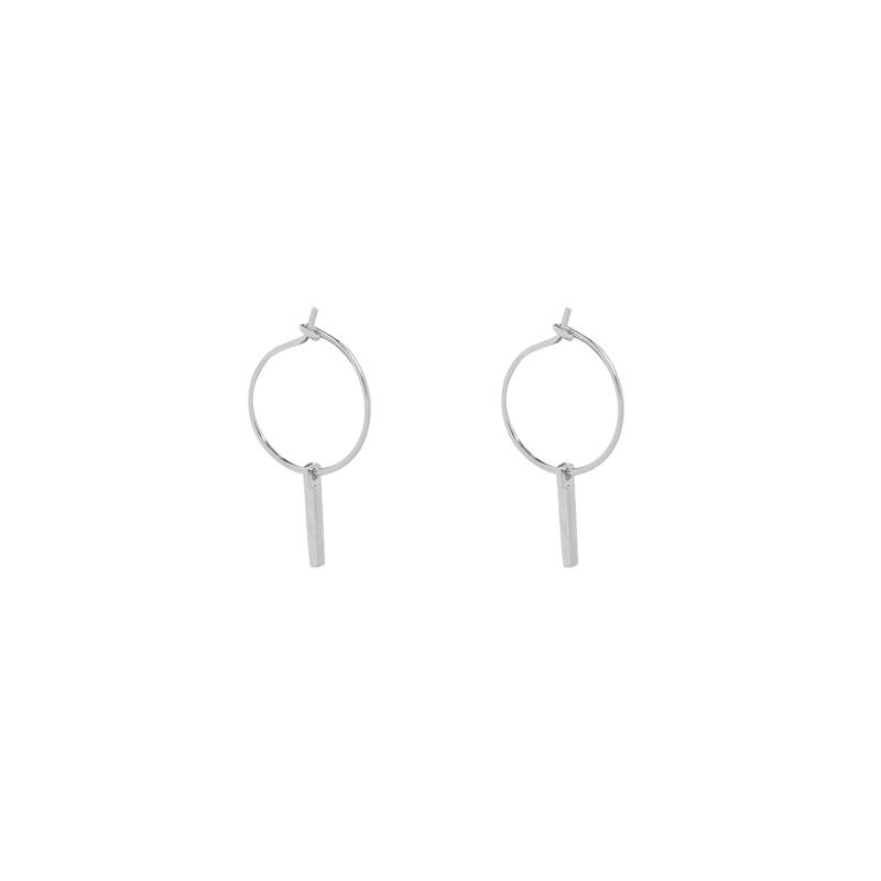 Joboly Earrings with a bar