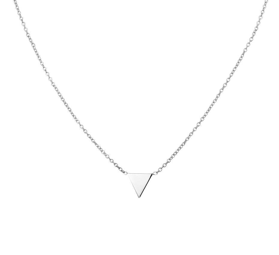 Joboly Joboly Schmuck Dreieck Halskette - Damen 925er Silber