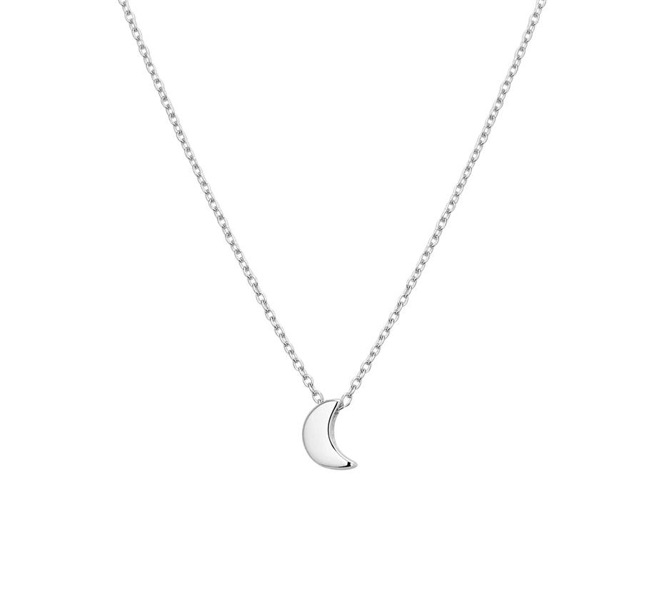 Joboly Jewelery Moon Necklace - Ladies 925 Silver