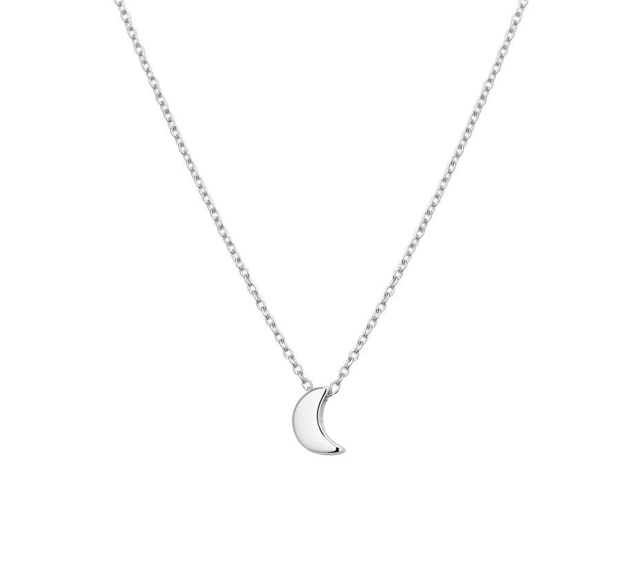 Joboly Joboly Jewellery Moon Halskette - Damen 925er Silber