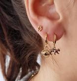 Joboly Vintage luipaard oorbellen