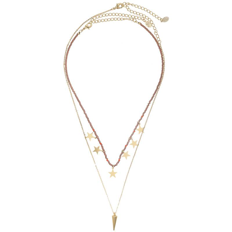 Joboly Multilayer ster ketting