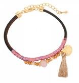 Joboly Ibiza boho bracelet with tassel