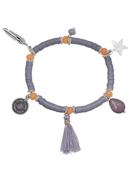 Joboly Ibiza boho bracelet with charms