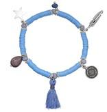 Ibiza boho bracelet with charms