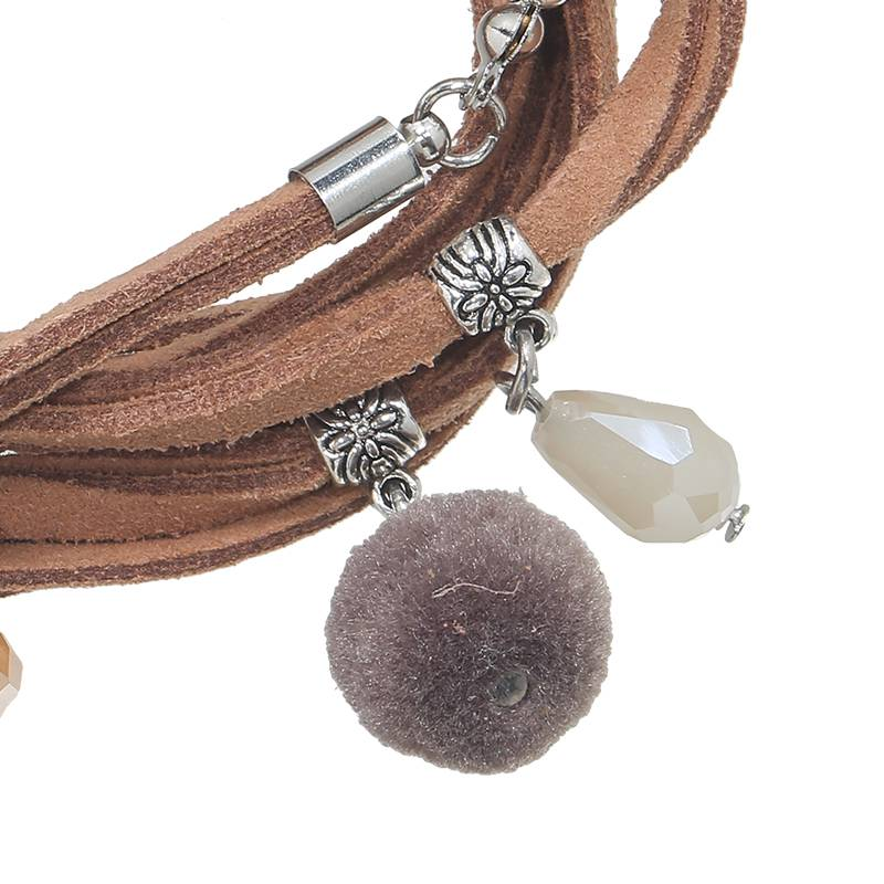 Lovelymusthaves Ibiza multilayer boho bracelet with charms