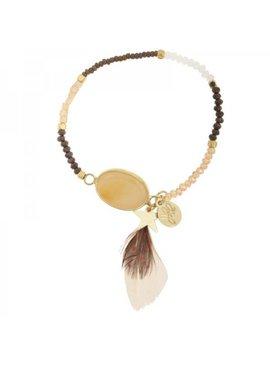 Lovelymusthaves Ibiza bracelet with tassel - Copy