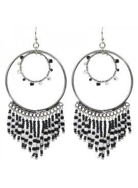 Trendy ibiza boho earrings