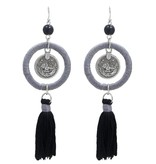 Joboly Trendy ibiza boho earrings with tassel