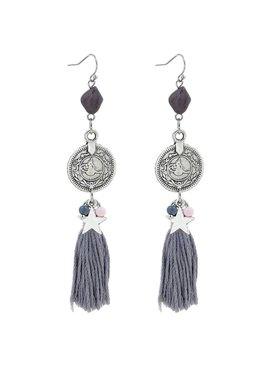 Joboly Trendy ibiza boho earrings with charms