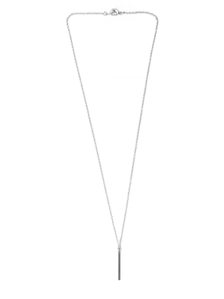 T bar staaf balk ketting - Extra lang