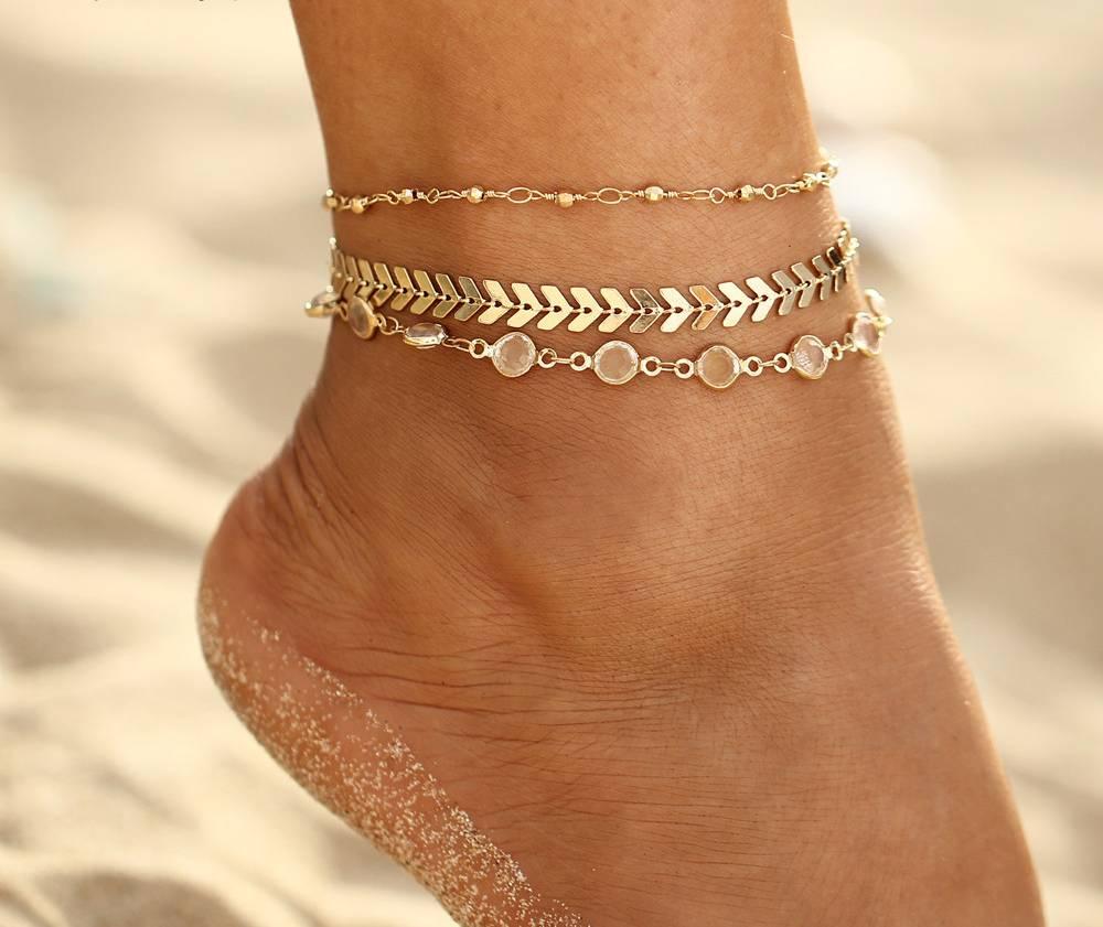 Joboly Multilayer ankle strap