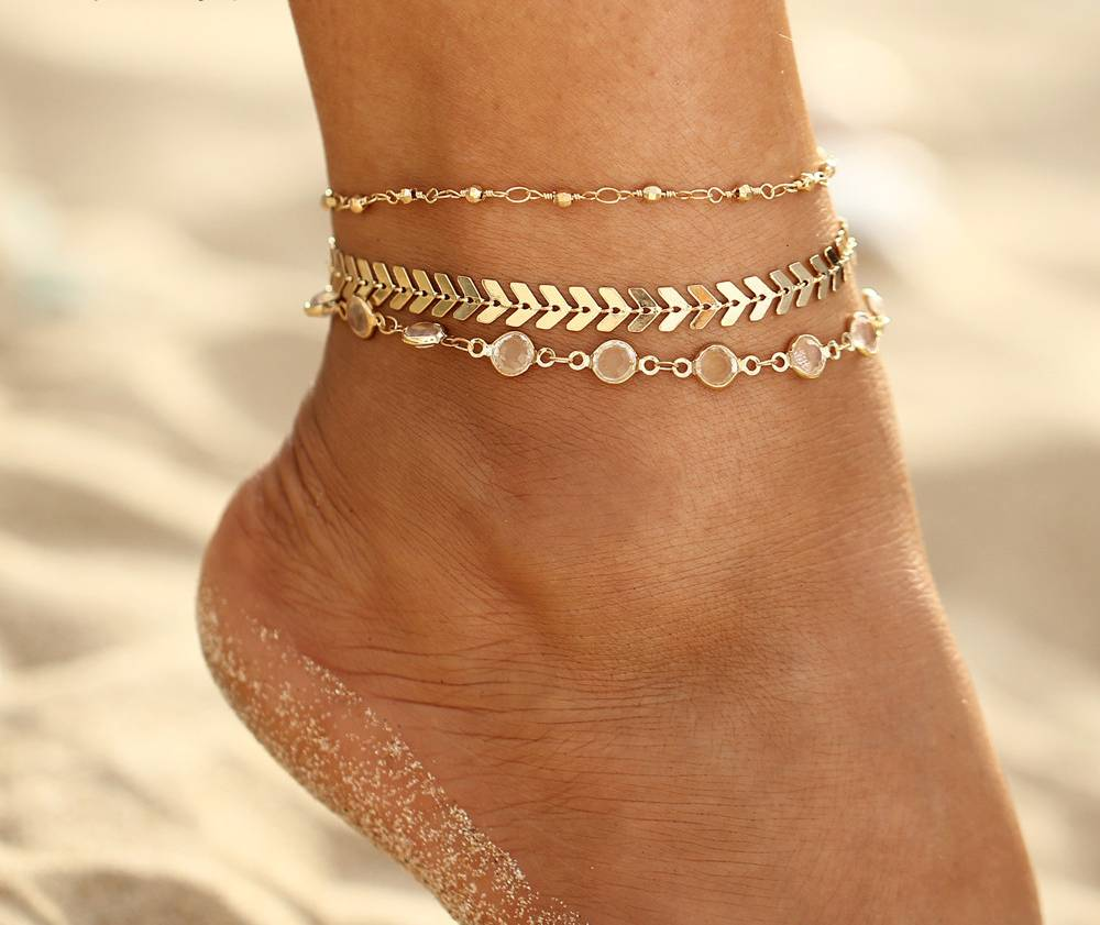 Lovelymusthaves Multilayer ankle strap