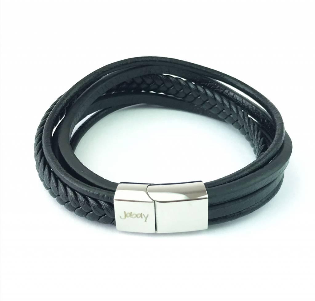 Joboly Joboly Jewelry Multilayer Bracelet Leather - Men