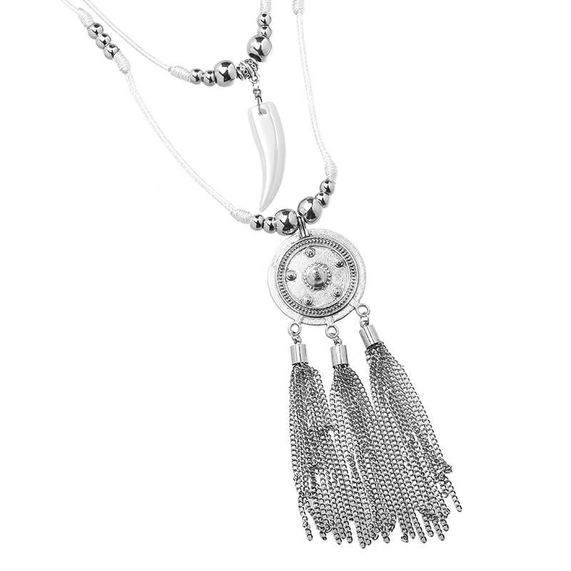Joboly Ibiza boho necklace coin