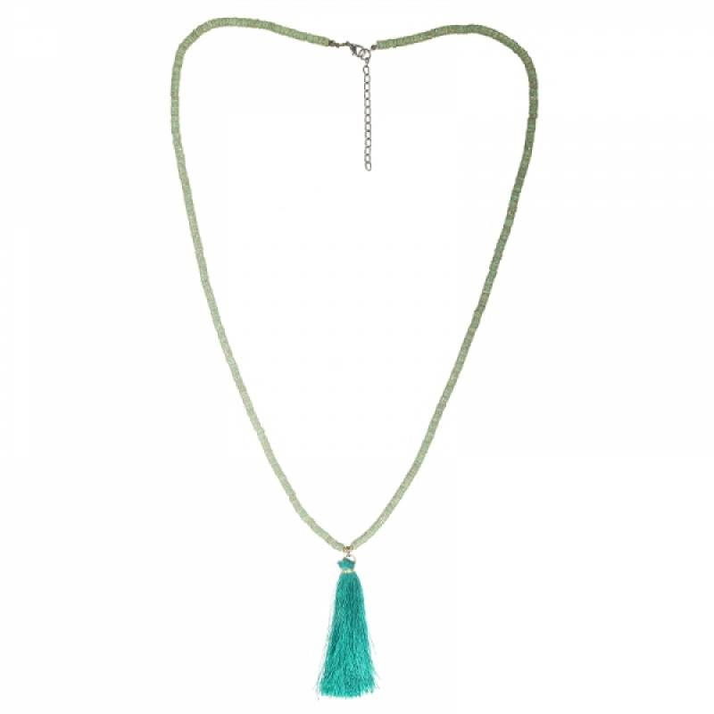 Lovelymusthaves Ibiza boho necklace with tassel