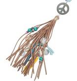 Joboly Ibiza boho necklace peace