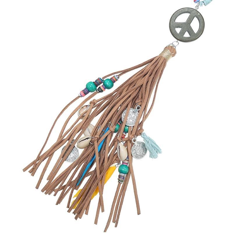 Joboly Ibiza Boho Halskette Frieden
