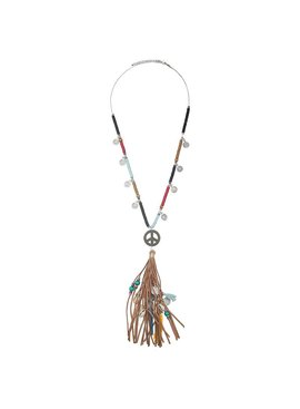 Lovelymusthaves Ibiza boho necklace peace