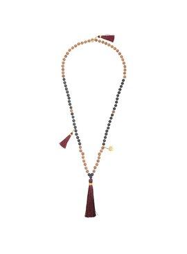 Lovelymusthaves Ibiza boho bead necklace
