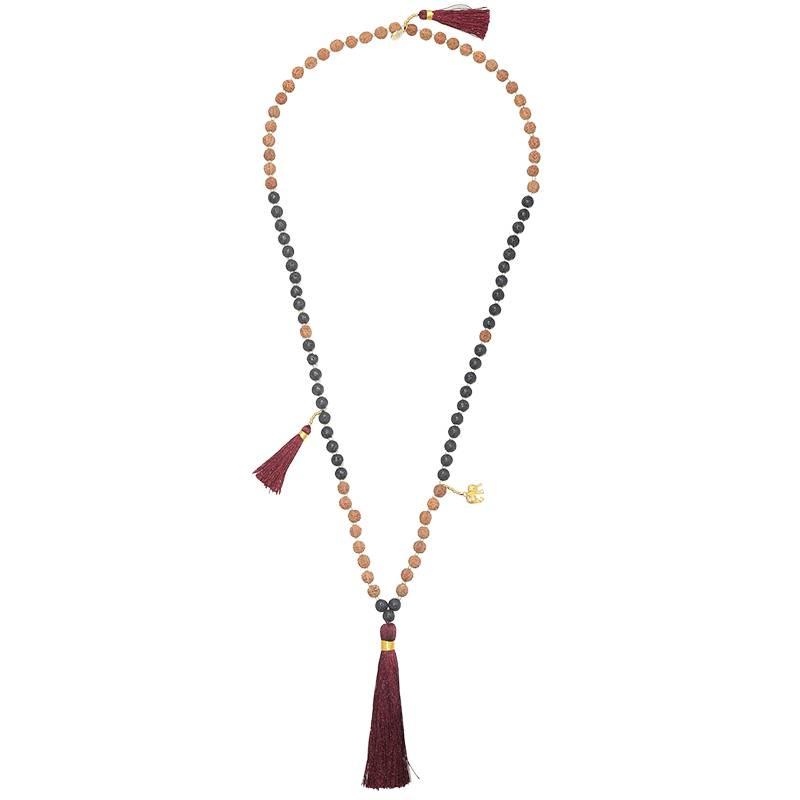 Joboly Ibiza boho bead necklace