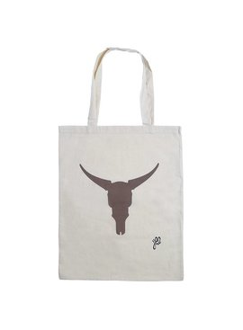 Lovelymusthaves Hip cotton shopper buffalo
