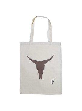 Lovelymusthaves Hippe katoenen shopper buffalo