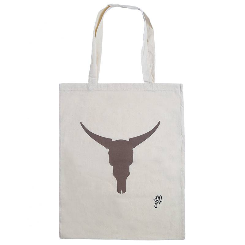 Lovelymusthaves Hippe katoenen shopper buffalo