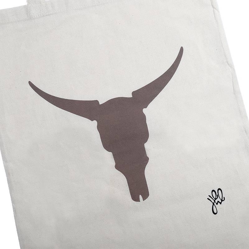 Lovelymusthaves Hip cotton shopper buffalo