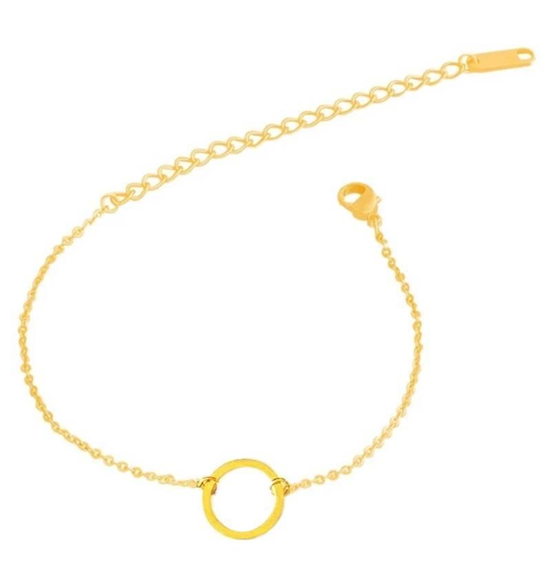 Lovelymusthaves Circle minimalistic bracelet