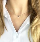 Joboly Joboly Jewellery Star Halskette - Damen 925er Silber