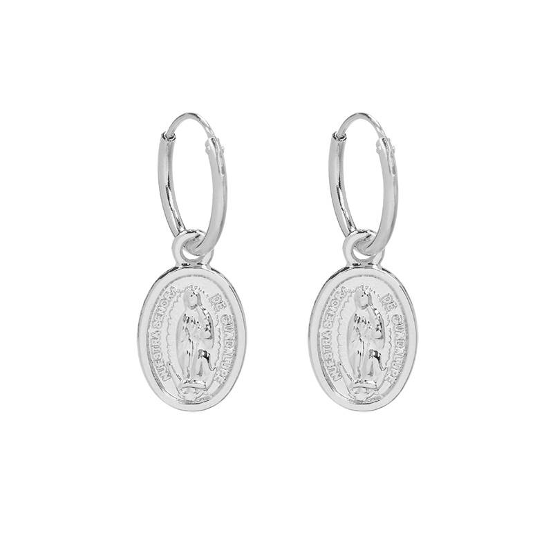 Joboly Earrings with a coin