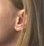 Joboly Joboly Jewellery Earrings Hearts - Damen - Ohrstecker 925er Silber