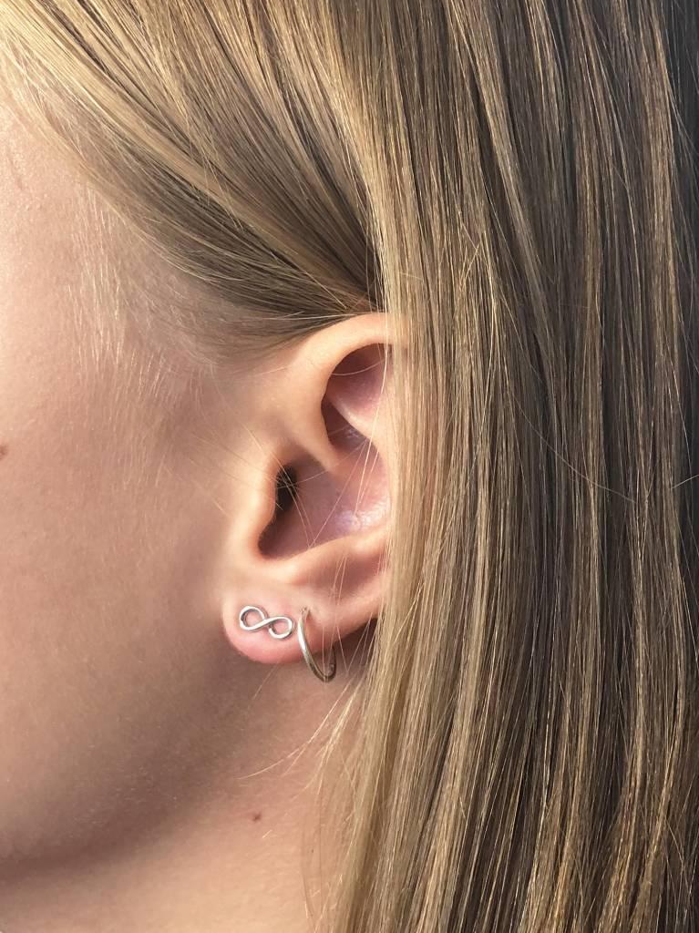Joboly Joboly Jewelery Earrings Infinity - Ladies - stud earrings 925 Silver