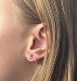 Joboly Jewellery Earrings Moon - Damen - Ohrstecker 925er Silber