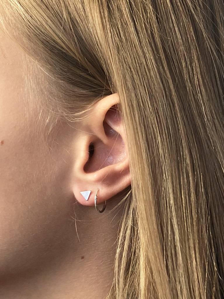 Joboly Joboly Jewelery Earrings Triangle - Ladies - stud earrings 925 Silver