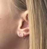 Joboly Joboly Schmuck Ohrringe Open Circle - Damen - Ohrringe aus 925er Silber